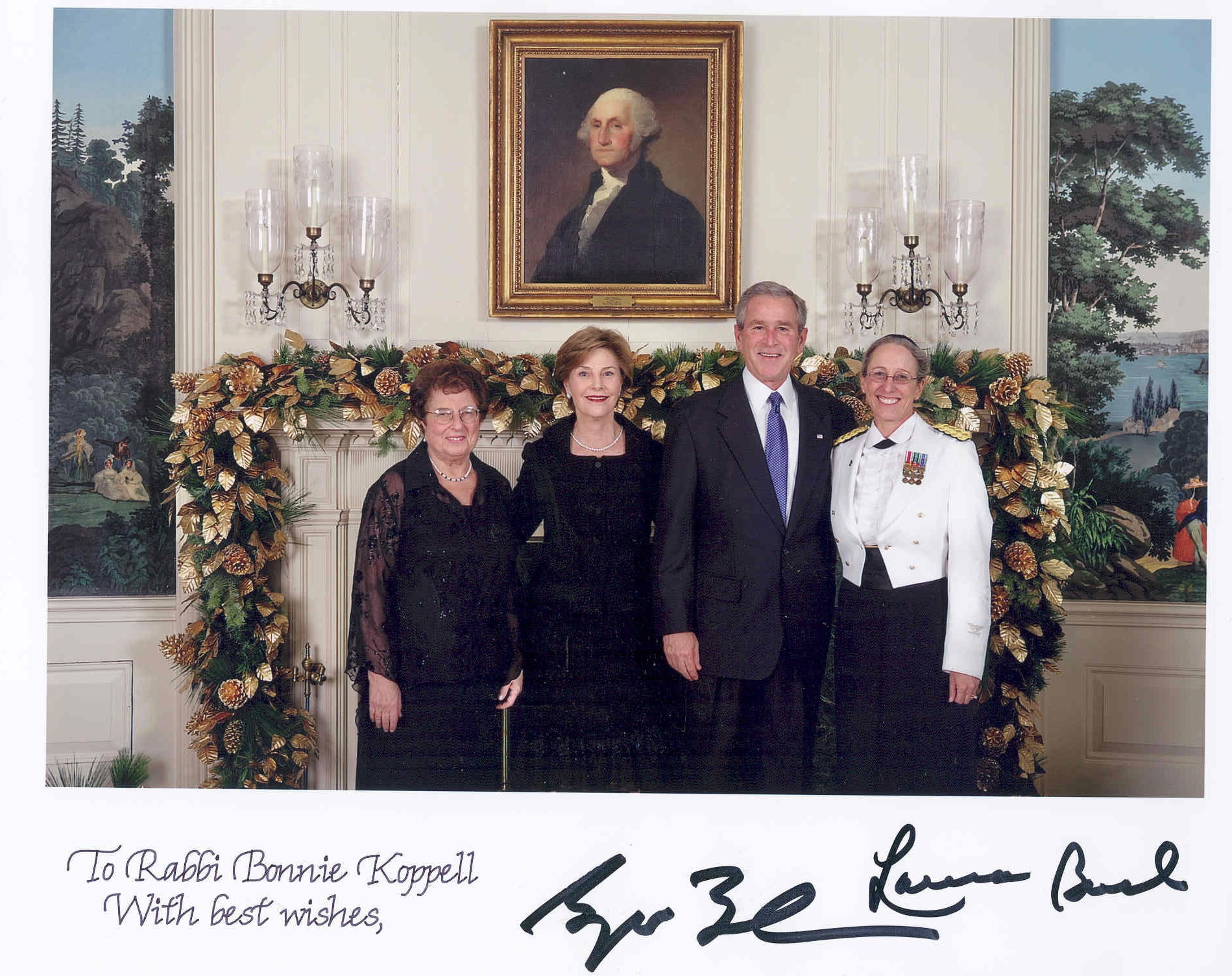 Rabbi Bonnie Koppell At The White House