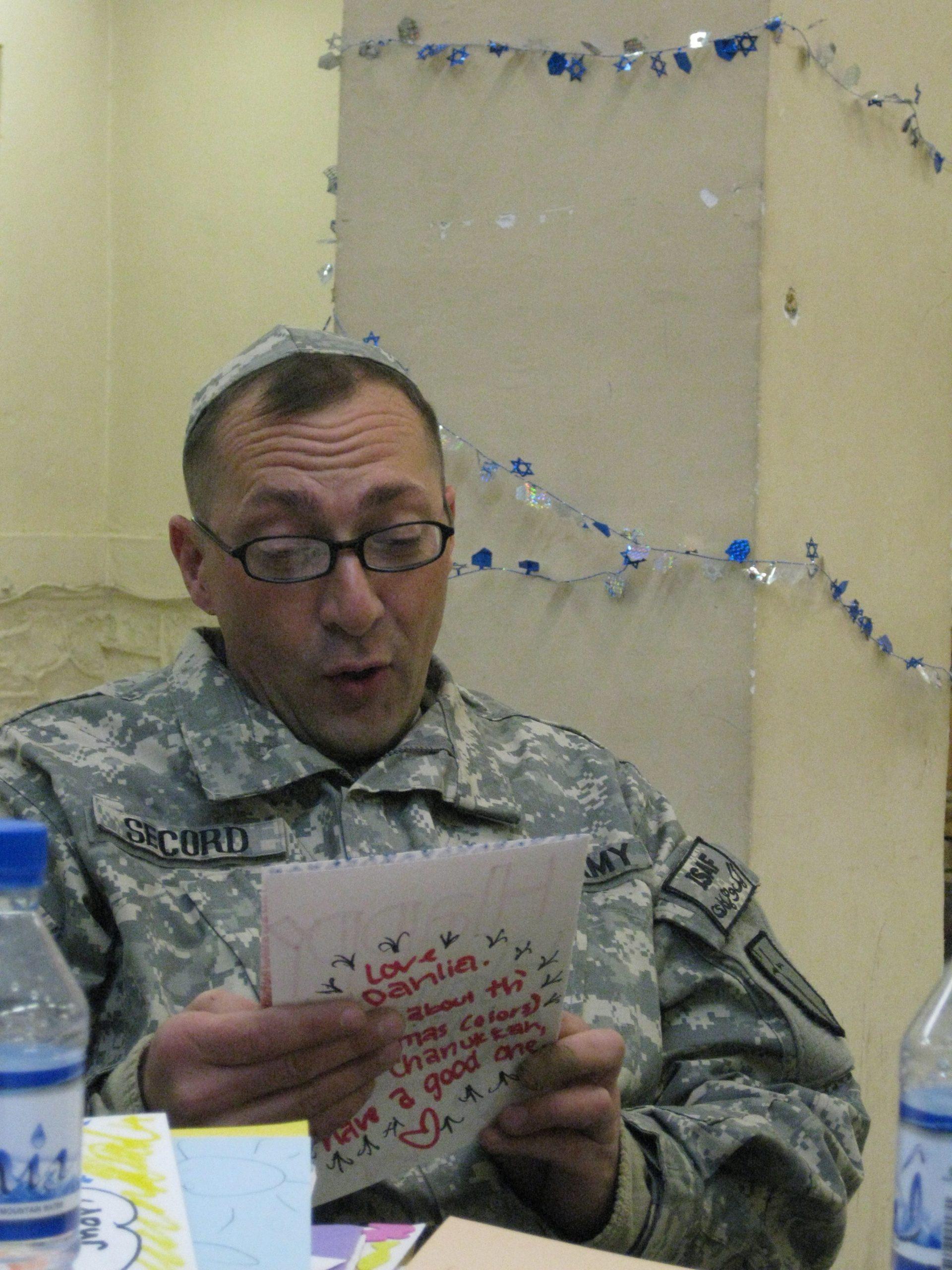 Rabbi Bonnie Koppell In Afghanistan